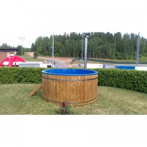 Koupací sud Hot Tub 170 Internal je vhodný pro citlivou pokožku - do sudu se nepoužívá chemie pro úpravu vody.
