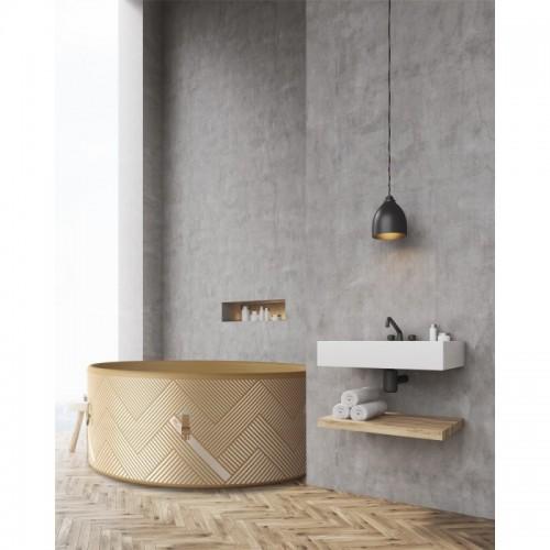 Přenosná vířivá vana Mono C-MO04 CONCEPT díky svému modernímu designu krásně doladí váš interiér.