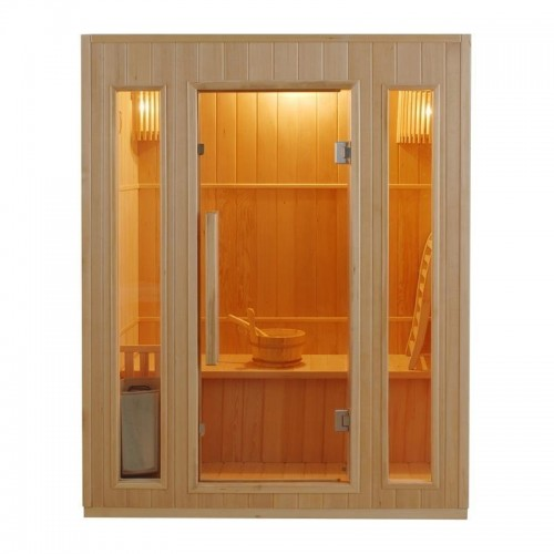 ZEN 3 Finská sauna -její předehřátí kabiny trvá cca 20 minut