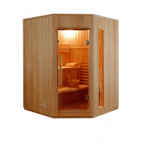 Domácí tradiční finskou saunu Zen 3-4 mohou současně využívat až 4 osoby