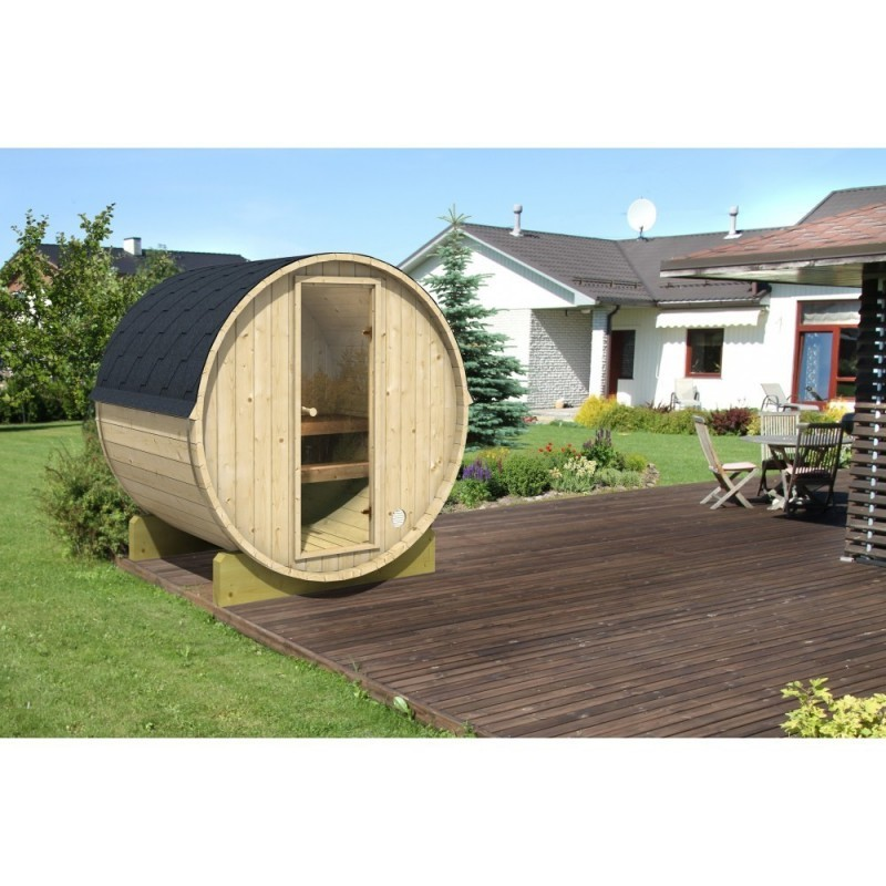 Sudovou saunu 160 si zamilujete nejen pro její krásu a pohodlí, ale také výhody, které saunování venku přináší