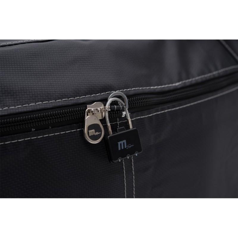 MSpa Camaro obsahuje vysoce odolné 6vrstvé RhinoTech PVC a navíc i ochranný kryt kolem skeletu v překrásné a elegantní černé bar