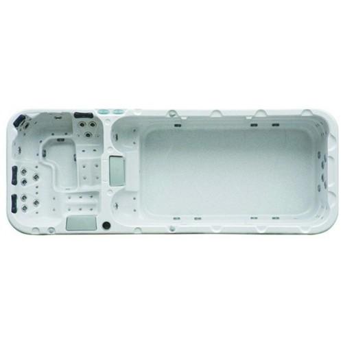akrylátová swinm spa í BAZÉN SUPERIOR NEXUS H-1.2 pro 8 osob nabízí tyto barvy vany: Bílý mramor, Gypsum, Černá perleť, Oyster