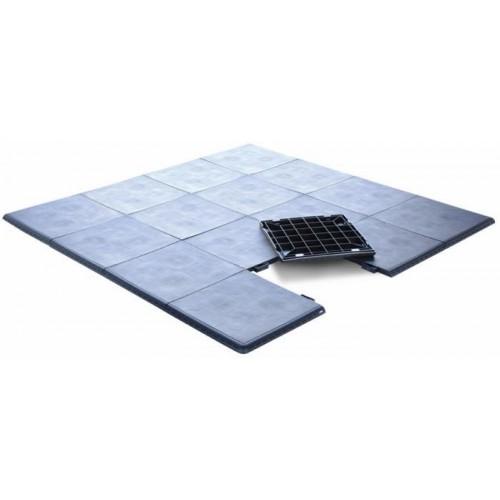 Podlaha k vířivce SmartDeck černá